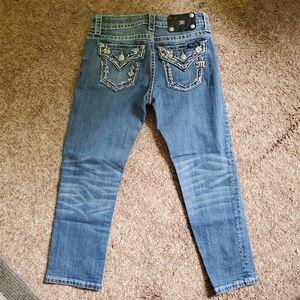 Miss Me Crop Jean's 24